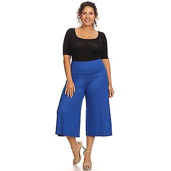 Plus size vrouwen ' s Gaucho broek Loose fit