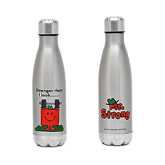 Mr Men Strong Stainless Steel Drink Bottle