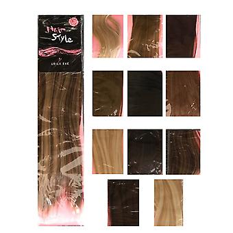 Leila Eve Hairstyle 6 Piece Full Head Clips Hair Extensions Heat Resistant 18