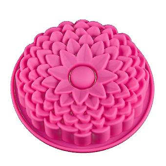 Vincenza cake silicone muffin pudding rose flower bakeware pan mould baking tray