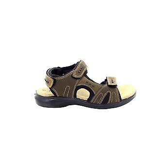 Roamingtaxorna Mens 3 och Touch fastsättning stoppade sport sandaler