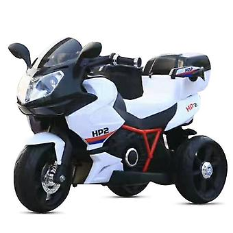 Children's electric motorcycle HP2 FB-6187, with music function, toy basket, from 3 years