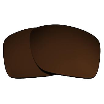 SEEK Replacement Lenses Compatible for Oakley TURBINE Polarized Brown