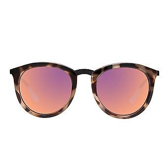 Le Specs neen grijnzende vulkanische Tortoise zonnebril