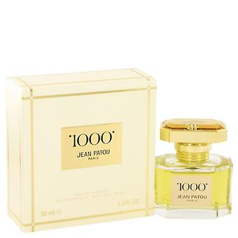 1000 eau de parfum spray by jean patou 515860 30 ml