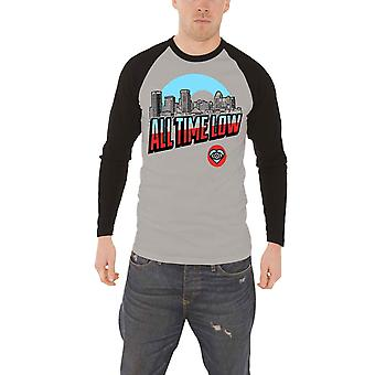 All Time Low T Shirt Baltimore band logo new Official Mens Baseball Shirt All Time Low T Shirt Baltimore band logo new Official Mens Baseball Shirt All Time Low T Shirt Baltimore band logo new Official Mens Baseball Shirt All Time