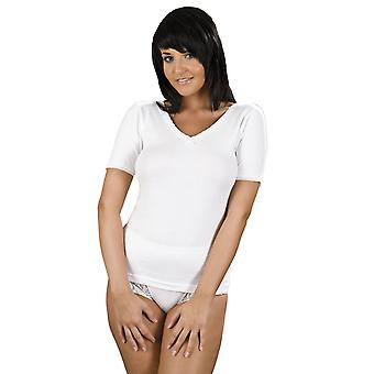 Ladies La-Marquise Thermal Short Sleeve V Neck Spencer Vest Underwear Ski Wear