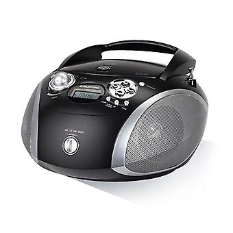 Rádio CD Grundig GDP6330 USB 2.0 MP3 preto