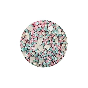 Paarse cupcakes Unicorn mix-100g