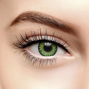 Air Optix Colours Green Coloured Contact Lenses (30 Day)