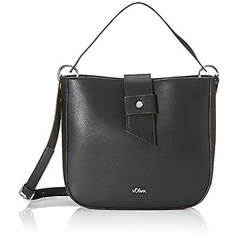 s.Oliver (Bags) 39.002.94.5818 Women's Pockets Shoulder bagGrey (Grey/Black) 10x25x26.5 Centimeters (B x H x T)