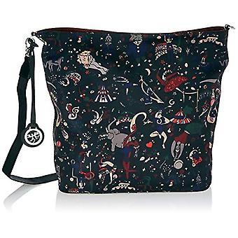piero guidi Hobo Bag Reversible Black Women's Shoulder Bag (Lavagna) 32.0x35.0x13.0 cm (W x H x L)