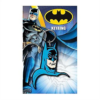 DC Comics Batman Comic Face Keyring Nyckelring