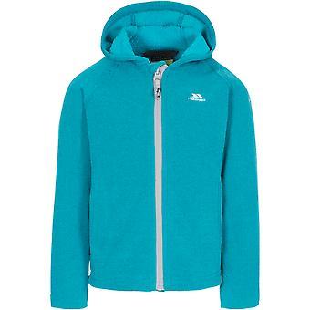 Trespass Girls Captive Full Zip Hooded Fleece Jacket