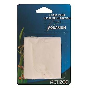 Actizoo Carbon Net 1 L. A 3 L. (Fish , Filters & Water Pumps , Filter Sponge/Foam)