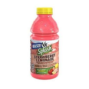 V8 Splash Fraise Limonade-( 473 Ml X 12 )