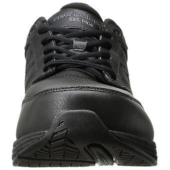 Novo equilíbrio Mens MW411BK3 baixo Top lace up andando sapatos