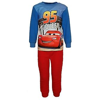 Disney Autos Jungen Polar Fleece Pyjama Set Blitz mcqueen