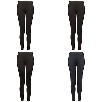 Finden and Hales Ladies/Womens Contrast Team Leggings