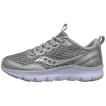 Kids Saucony Girls Liteform Feel Fabric Low Top Lace Up Fashion Sneaker