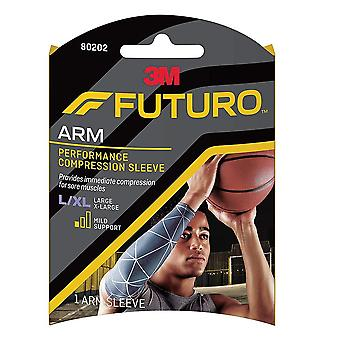 Futuro sport performance compression calf sleeve, small/medium, 1 ea