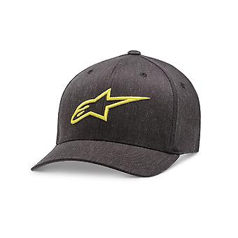 Alpinestars Mens Cap ~ Ageless Curve char/yellow