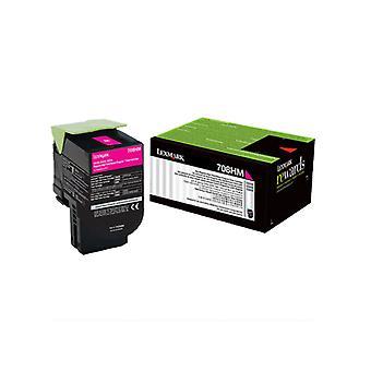 Lexmark 708Hme Magenta High Yield Corporate Toner Cartridge 3K