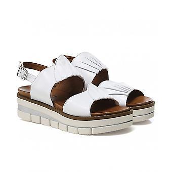 Grunland Leather Slingback Sandals