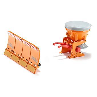 SIKU 1:32 Salt Spreader W/Ploughing Plate