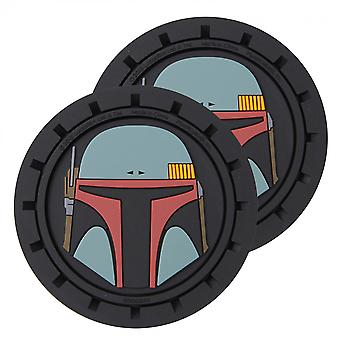 Star Wars Boba Fett Car Cup Holder Coaster 2-pak