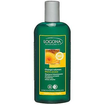 Logona Volume Shampoo Honey & Beer