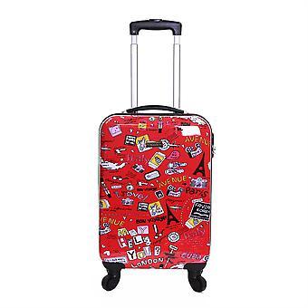 Karabar Dewberry 55 cm Hard Suitcase, Cities