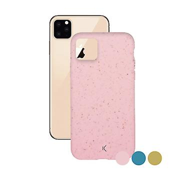 Mobile cover Iphone 11 Pro KSIX Eco-Friendly/Pink