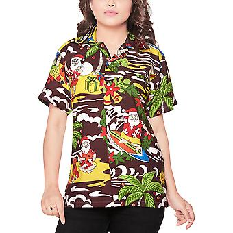 Club cubana women's regular fit classic short sleeve casual blouse shirt ccwx34