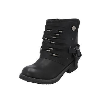 Coolway BARU Women's Boots Black Lace-Up Boots Winter