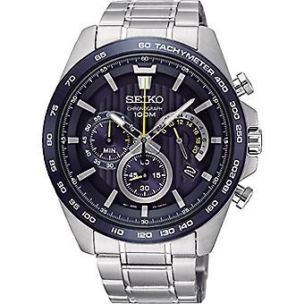 セイコー クロノグラフ クオーツ メンズ腕時計ステンレス バンド SSB301P1