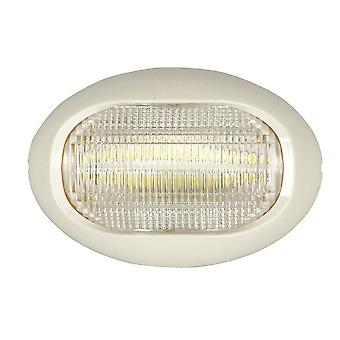 TechBrands Fixed Oval Stern LED Lights White (75 x 52 x24mm)