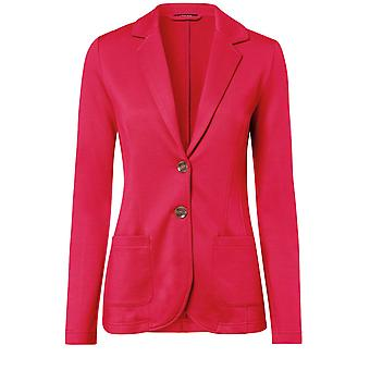 Olsen Red Jersey Tailored Jacket