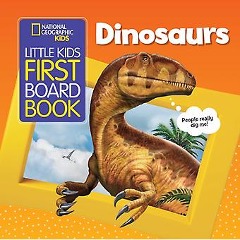 National Geographic Kids Little Kids First Board Book Dinos by Ruth Musgrave