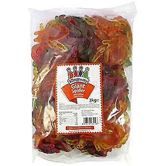 Kingsway Giant Spider Sweet Jelly Gums 3kg