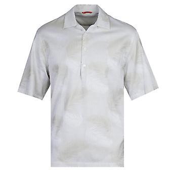 Barena Camicia Mola Palma Grønn Print Skjorte