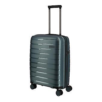 Travelite Air Base Hand Luggage Trolley S, 4 roues, 55 cm, 37 L, Bleu