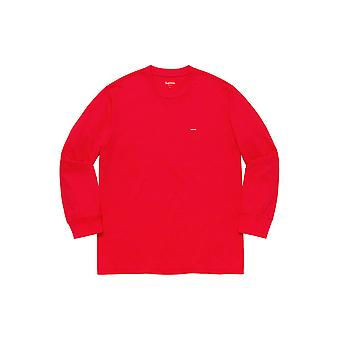 Supreme Small Box L/S Tee Red - Clothing