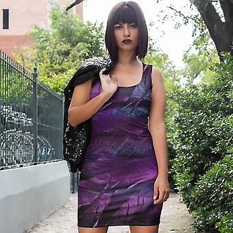 Slim Fit Dress | Purple Feather