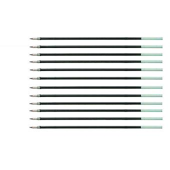Compatible Refills For Parker Rollerball Black Ink x12
