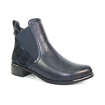 Lunar Harlem metalliska fleck fotled boot