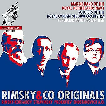 Marine Band of the Royal Netherlands Navy - Rimsky&Co Originals [CD] USA import