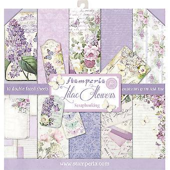 Lilac 12x12 بوصة ورقة حزمة (SBBL21)