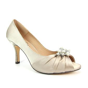 Lunar Zara Peep Toe Heel