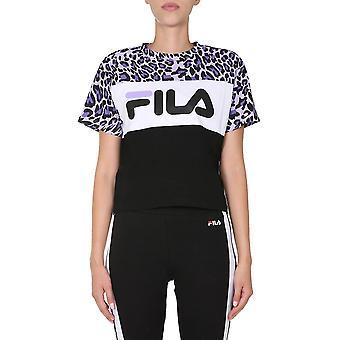 Fila 687973a814 Women's Multicolor Cotton T-shirt